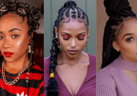 Fresh 105 best braided hairstyles for black women to try in 2020 Hair Style With Braid Choices