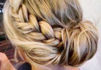 Fresh 20 pretty braided updo hairstyles popular haircuts hair Braided Updo Hairstyles For Medium Hair Choices