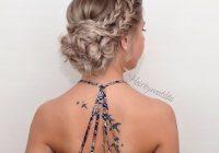Fresh 25 chic braided updos for medium length hair hairstyles weekly Braided Updo Hairstyles For Medium Hair Inspirations
