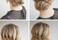Fresh 30 buns in 30 days day 7 lace braided bun hair romance Braided Hair Bun Styles Inspirations