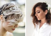 Fresh 31 wedding hairstyles for short to mid length hair stayglam Very Short Hair Wedding Styles Inspirations