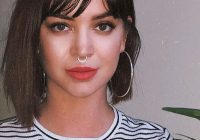 Fresh 40 best short hairstyles with bangs 2019 Short Hairstyles With Bangs Ideas