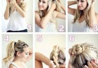 Fresh 40 quick and easy updos for medium hair Quick Braided Hairstyles For Medium Hair Ideas