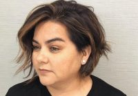 Fresh 40 short hairstyles for round faces and double chins Short Hairstyles For Round Faces With Double Chin Choices