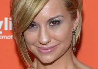 Fresh chelsea kane layered short haircut with side swept bangs Short Haircuts With Side Swept Bangs And Layers Choices