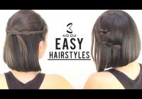 Fresh easy hairstyles for short hair Hairstyles With Short Hair Step By Step Inspirations