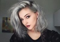Fresh grey x4 hair dye colors granny hair grey hair color Short Hair Color Tumblr Inspirations