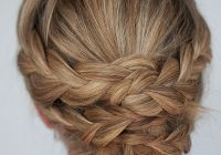 Fresh hairstyle how to easy braided updo tutorial hair romance Braided Updo Hairstyle For Long Hair Inspirations