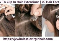 Fresh how to clip in hair extensions for short hair Hair Extensions For Short Hair Styles Inspirations