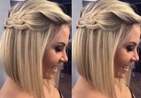 Fresh maid of honor wedding hair simple but cute hair styles Short Hairstyle For Maid Of Honor Choices