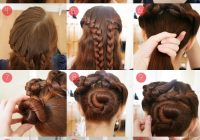 Fresh pearls scissors braided updo tutorial for long and thick Long Hair Braided Updo Tutorial Choices