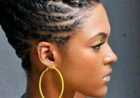 Fresh short braided hairstyles for black women with thin hair Braid Updo For Short Black Hair Inspirations