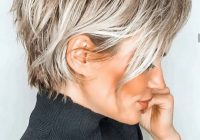 hair style ideas for thin hair in 2020 short blonde Style Ideas For Short Layered Hair Choices