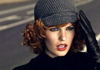how to wear a hat with short hair useful tips for a woman Hats For Short Hair Styles Choices