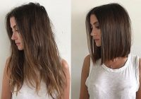 long hair to shoulder length bob transformation domdomhair Long Hair With Short Hair Ideas