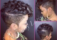 pin on crowning glory Short Hair Mohawk Styles For Black Women Choices