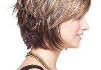 pin on hair design Short Layered Hairstyles With Bangs For Thick Hair Inspirations