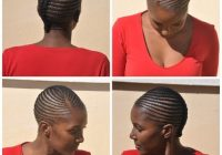 plaits lines no extension simple plaits hairstyles South African Hair Cornrows