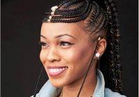 straight up braids hairstyles 2019 box braids fulani Straight Up Braided Hairstyles Ideas