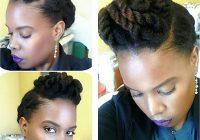 Stylish 13 natural hair updo hairstyles you can create Short Black Hairstyles To Do At Home Choices