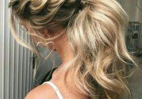 Stylish 25 chic bridesmaid hairstyles for long hair weddingomania Braided Hair For Bridesmaids Inspirations