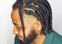 Stylish 30 great braided hairstyle ideas for black men 2020 French Braids Hairstyles For Black People Inspirations