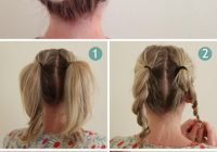 Stylish 40 quick and easy updos for medium hair Braided Updo Hairstyles For Medium Hair Ideas