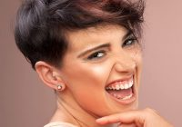 Stylish 40 short super spunky shag hairstyles Short Spunky Hair Styles Choices