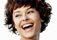 Stylish 50 perfect short haircuts for round faces hair motive hair Short Hairstyles For Thick Curly Hair Round Face Inspirations