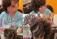Stylish 50 superb black wedding hairstyles black wedding Black Braided Updo Hairstyles For Weddings Ideas