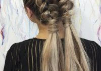 Stylish 51 pretty holiday hairstyles for every christmas outfit Cool Braided Updos For Long Hair Choices