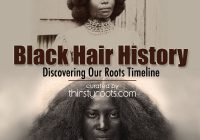 Stylish african american hair history timeline African American Hairstyles Magazine Ideas