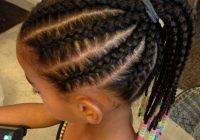 Stylish braids for kids black girls braided hairstyle ideas in Simple Braided Hairstyles For Toddlers Choices