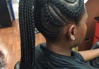 Stylish criss cross goddess braids 70 best black braided African American Big Braids Hairstyles Designs