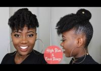 Stylish cute and easy hairstyle for shortmedium 4c natural hair Quick Natural Hairstyles For Short 4c Hair Inspirations