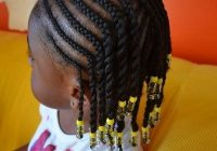 Stylish little black kids braids hairstyles picture toddler African American Girl Braids