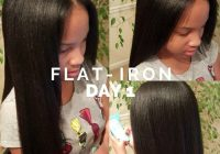 Stylish natural long black hair care and fashion blog flat iron Flat Iron Hairstyles For African American Hair Ideas