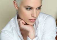 Stylish pin on gray hair Short Hair Styles For White Women Choices