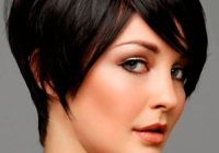 Stylish short hairstyles for thick hair and oval face short Short Hairstyles For Thick Hair And Long Face Choices