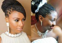 Stylish side side photos braided updos black hair bridal updos Black Braided Updo Hairstyles For Weddings Ideas