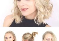 Stylish super quick and easy short hairstyles for school date or Cute Hairstyles For Short Curly Hair For School Inspirations