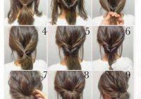 Stylish top 100 easy hairstyles for short hair photos what a Up Hair Styles For Short Hair Inspirations