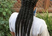 Stylish top 115 sexy african braid styles of 2019 bun braids African American Big Braids Designs
