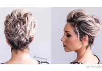 Trend 1 prom hairstyle for short hair in 2020 is here 17 more Short Prom Hair Styles Inspirations