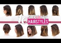 Trend 10 quick and easy hairstyles for short hair patry jordan Hairstyles With Short Hair Step By Step Choices