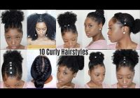 Trend 10 quick easy hairstyles for natural curly hair instagram Easy Hairstyles For Thick African American Hair
