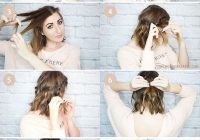 Trend 15 cute and easy hairstyle tutorials for medium length hair Cute Updos For Short Hair Tutorials Ideas