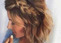 Trend 17 chic braided hairstyles for medium length hair stayglam Braid Ideas For Medium Hair Ideas