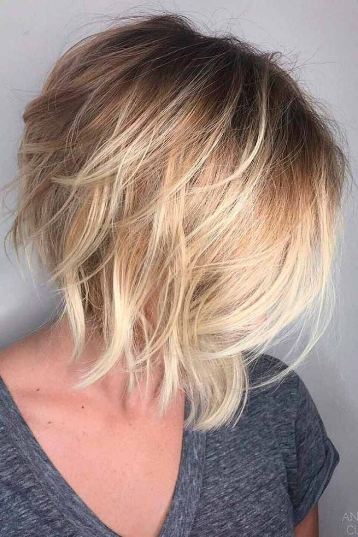 Permalink to 10 Perfect Short A Line Hair Styles