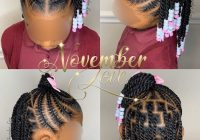 Trend 2020 gorgeous braids for your lovely kids toddler braided Kids Braids Hairstyles Ideas